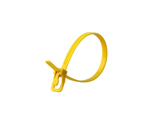 Picture of RETYZ EveryTie 8 Inch Yellow Releasable Tie